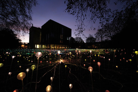 Field of Light at the Holburne Museum, Bath